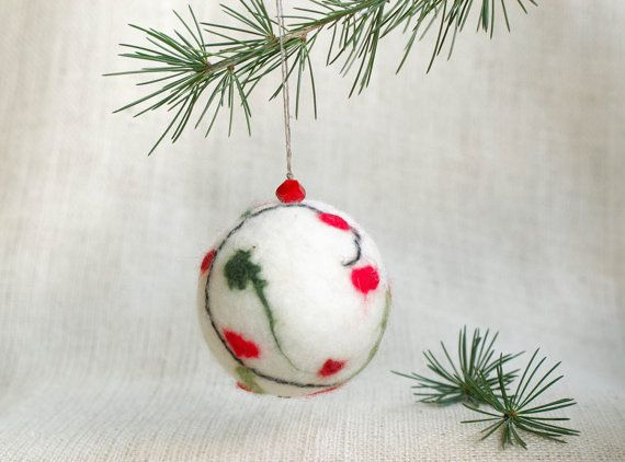 red berry Christmas tree ornament