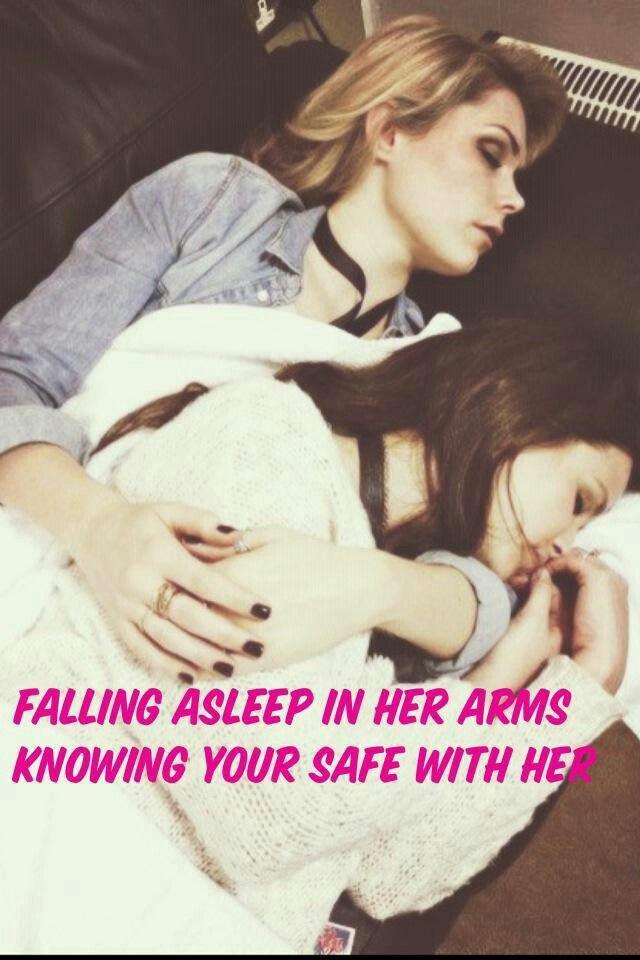 Lesbians asleep