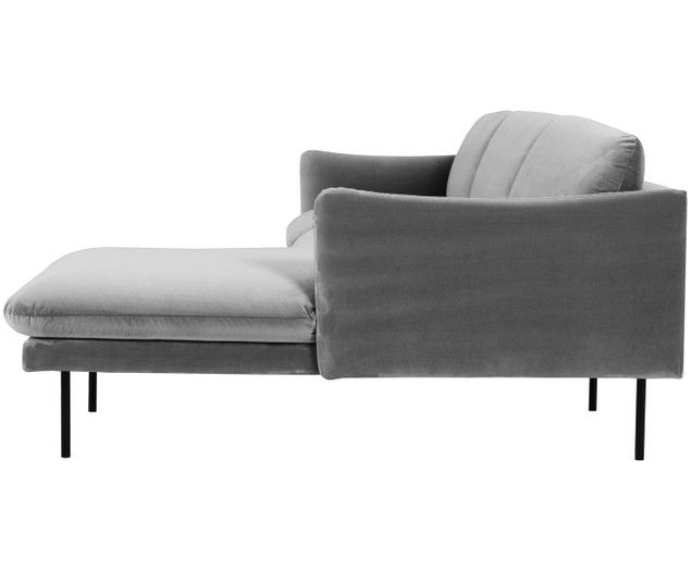 Samt Ecksofa Moby Furniture Couch Recliner