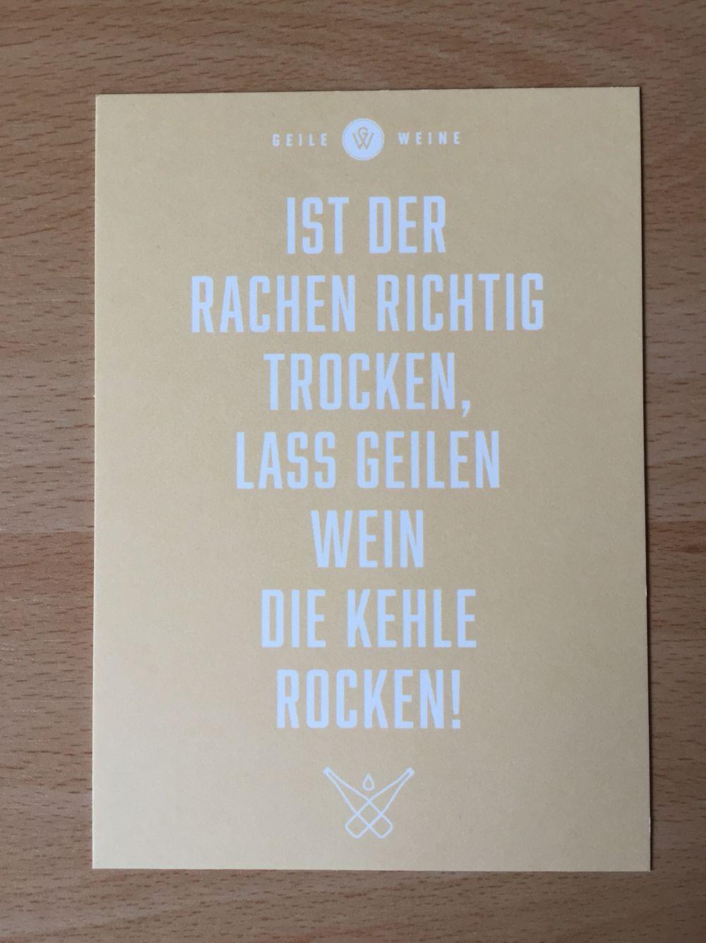 Spruch von Geile Weine | Sprüche für die Küchenwand | Pinterest ...
