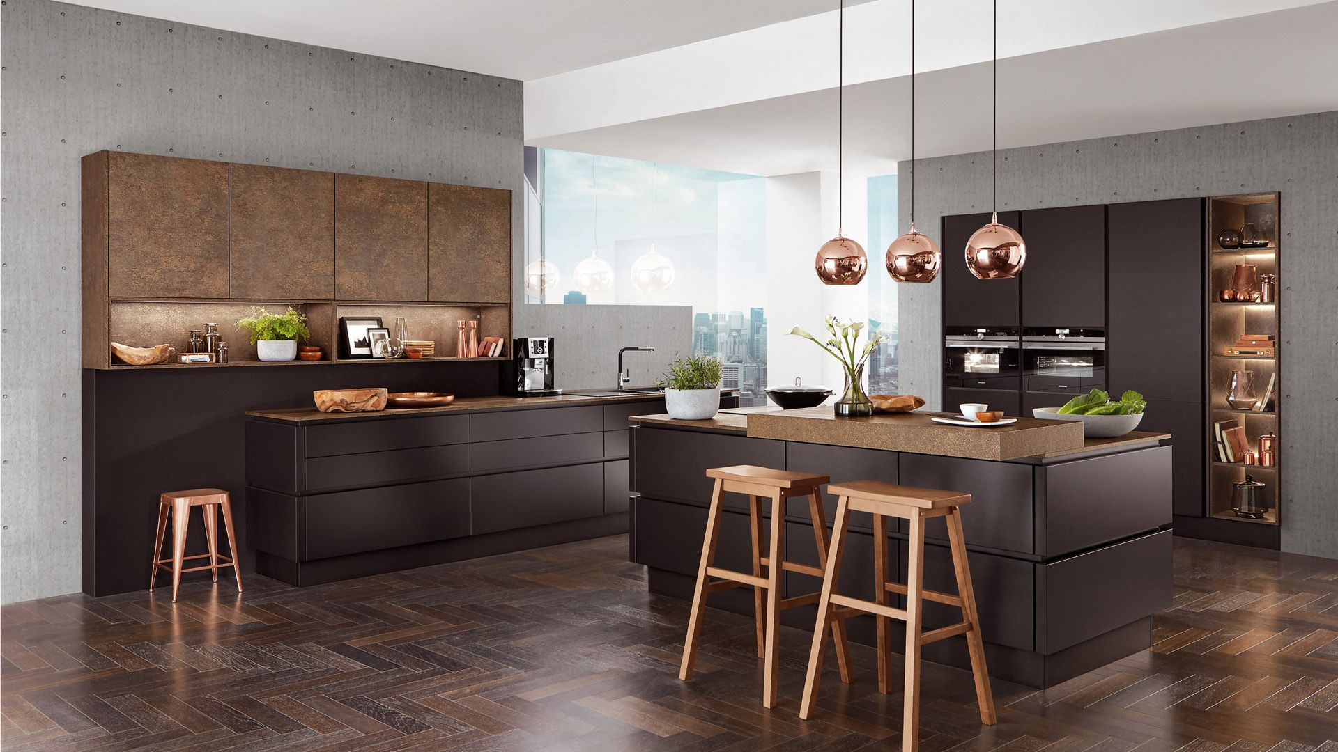 nobilia k chen nobilia produkte dunkle farben haus pinterest kitchen kitchen design. Black Bedroom Furniture Sets. Home Design Ideas