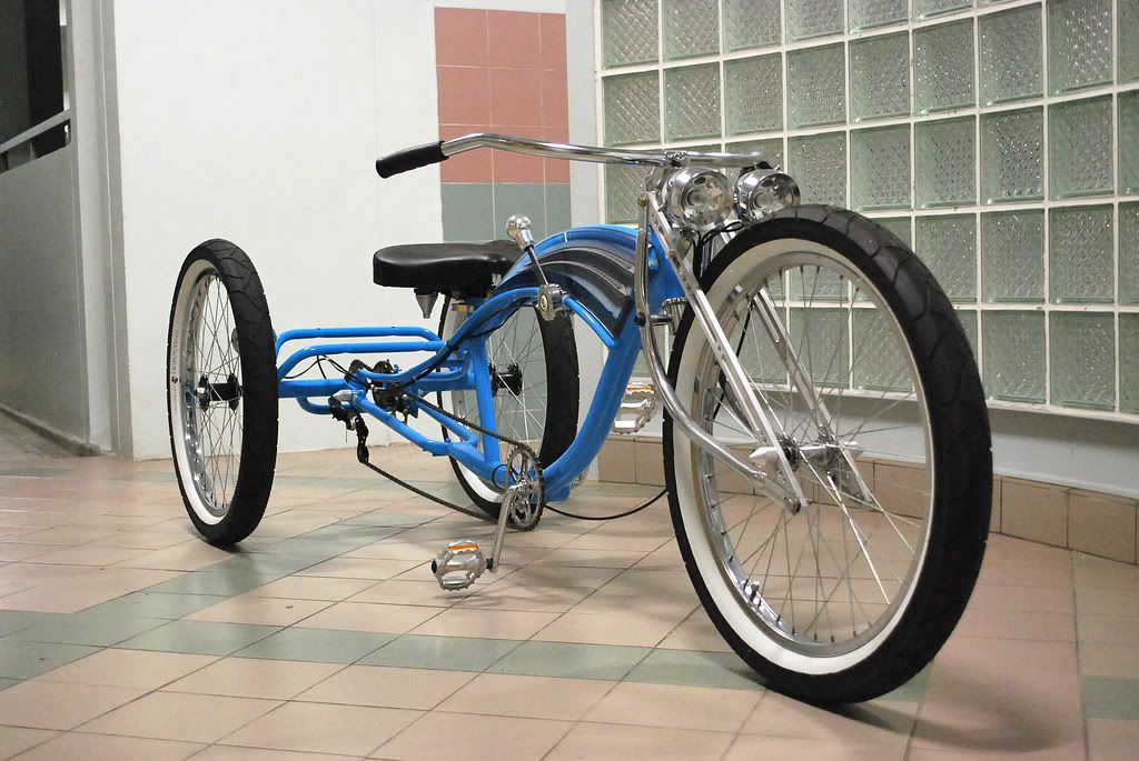 Stretch Trike Cruiser Conversion Motorized Bicycle Engine Kit
