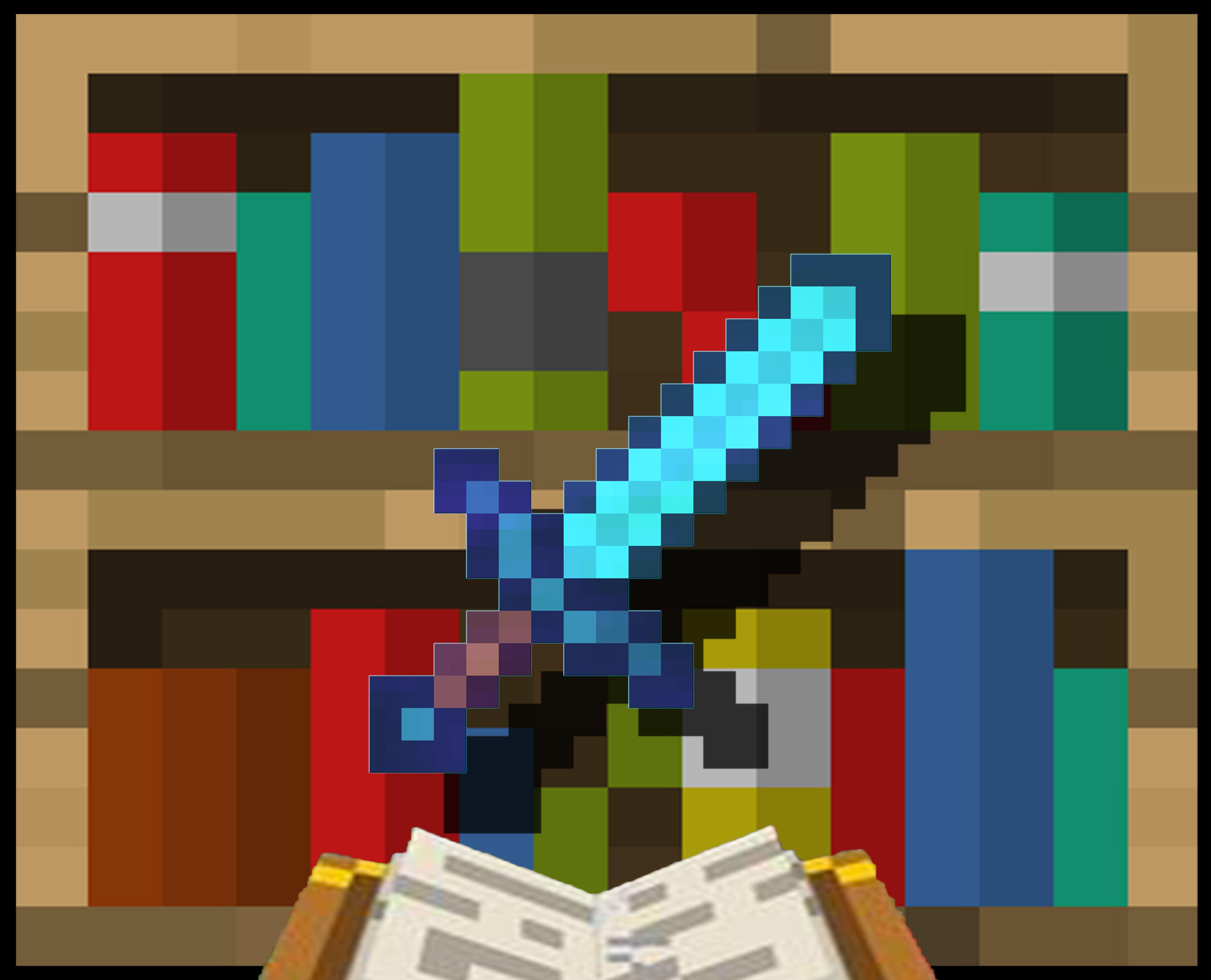 Minecraft Enchanted Diamond Sword Animation Minecraft Minecraft Enchantments Minecraft Diamond Sword
