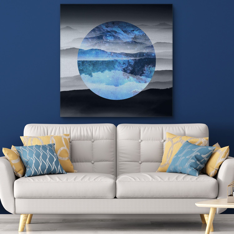 Crystal art gallery celestial landscape 1 canvas wall art