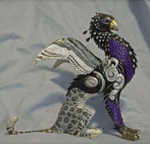 Leopard Griffin By Kimrhodes Deviantart Com On Deviantart