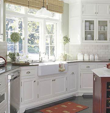 Farmhouse Sink Ideas Cottage Style Kitchen White Farmhouse