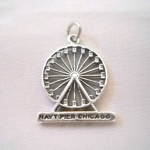 Charms for Bracelets and Necklaces Navy Pier Charm