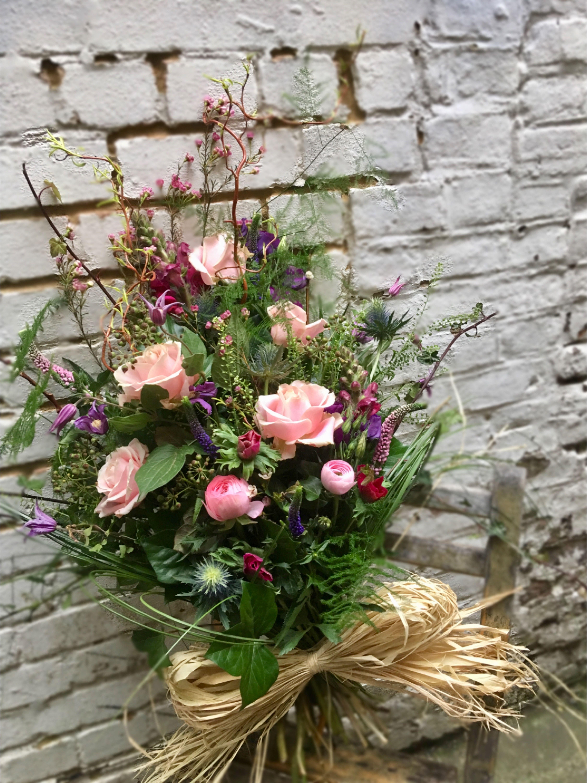 Tied Sheaf Decor Flower Pinterest Funeral Flowers Funeral