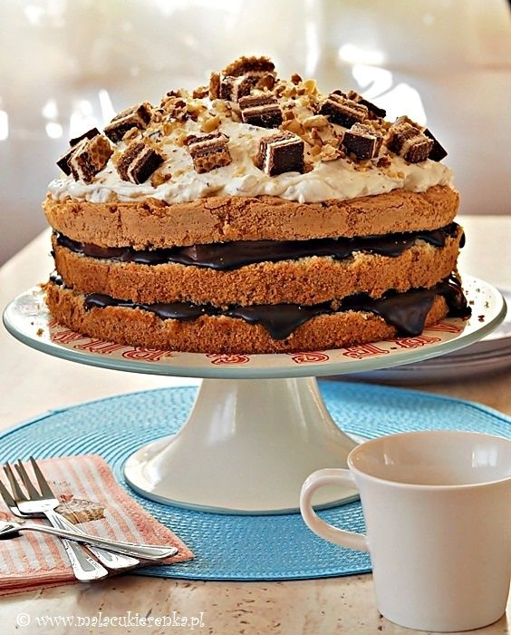 <3 Easy Chocolate Layer Cake | My Photography & Recipes