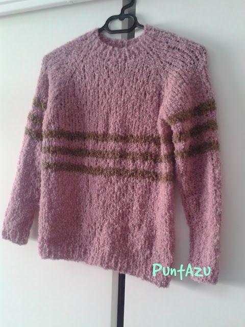 Jersey en manga ranglan. patrón gratis. | Accesorios de crochet y ...