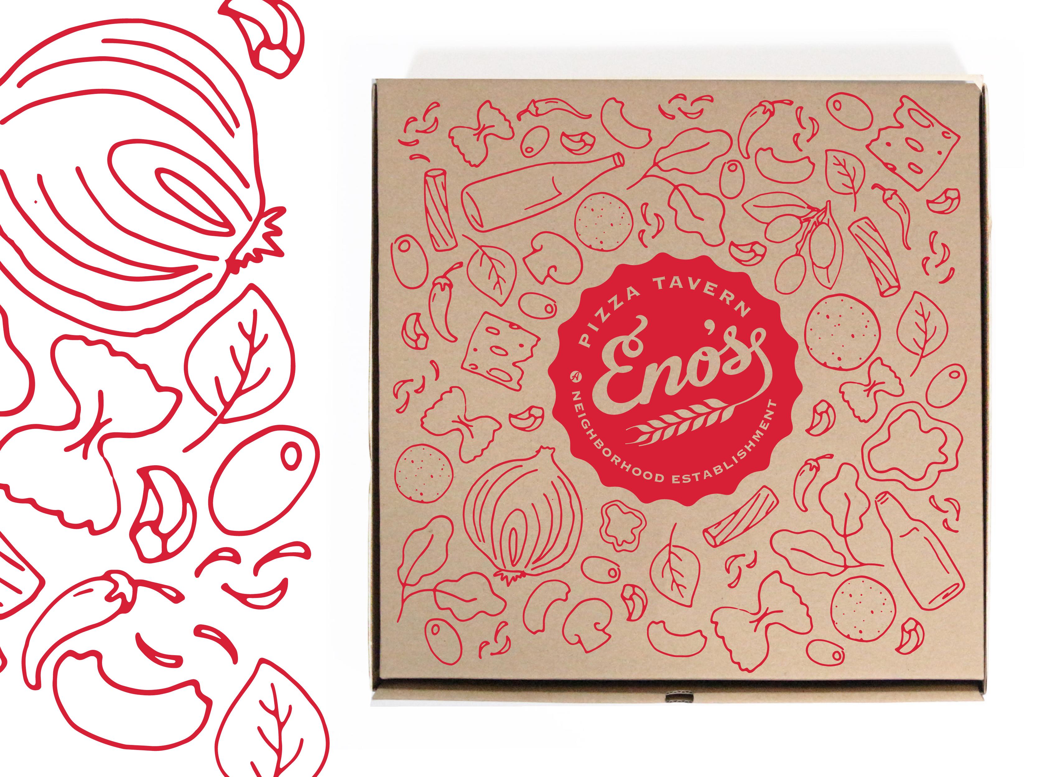 Eno S Pizza Box Design Pizza Box Design Pizza Boxes Box Design