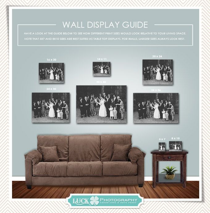 Portrait wall art guide useful infographic for determining scale and sizing your also pin by luck photography on     in home rh pinterest