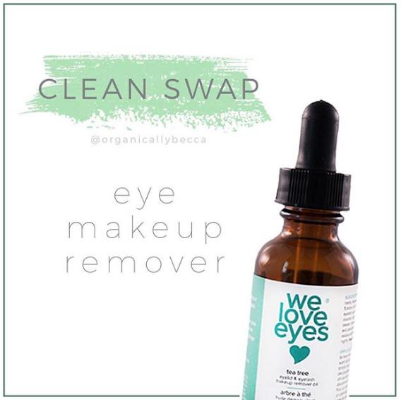 Tea Tree Eye Makeup Remover Oil Eye makeup remover, Oil