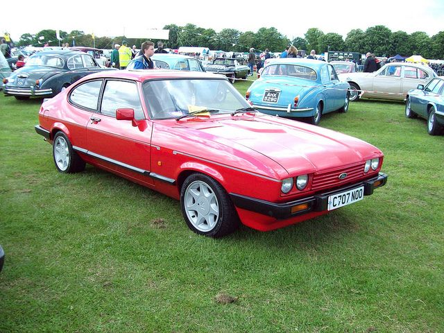 161 Ford Capri Injection Special 1986 Ford Capri Ford