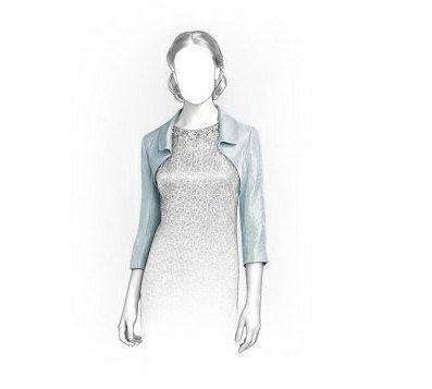 TipTopFit custom sewing patterns on Etsy, I think this bolero jacket ...