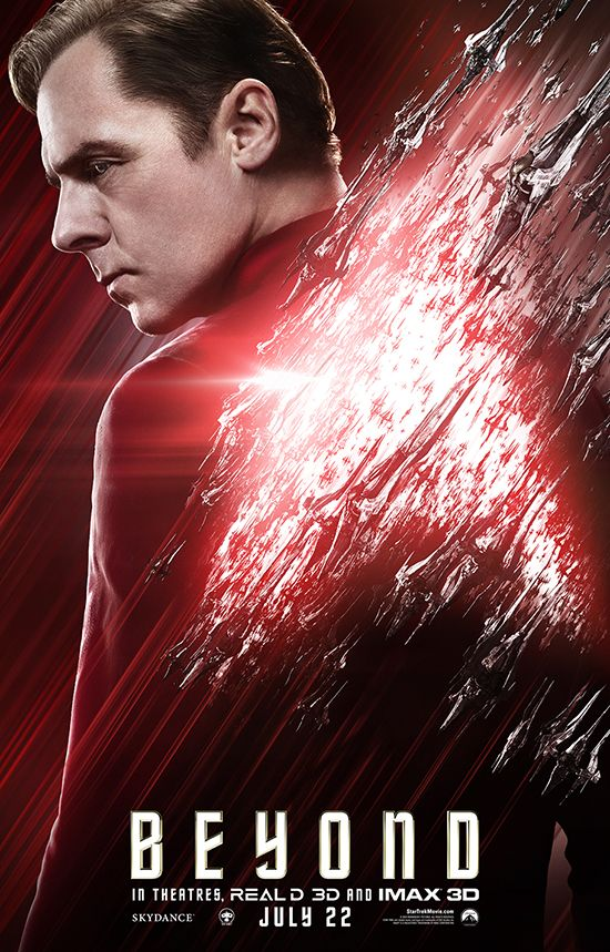 Scotty Sulu Uhura On Latest Beyond Posters Star Trek Beyond
