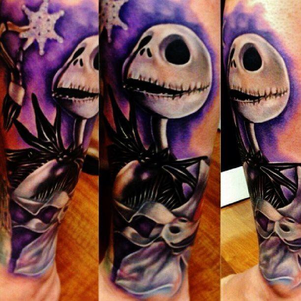 Nightmare Before Christmas Tattoo Jack Skellington: Jack