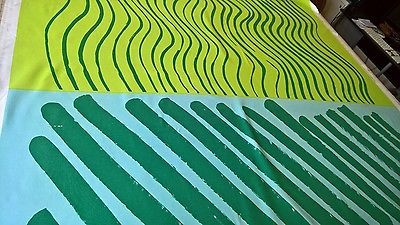 Marimekko SILKKIKUIKKA 100% Cotton Fabric Maija Isola 1961 Design 2.75 yards!