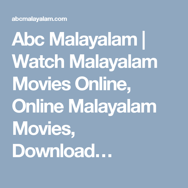 abc malayalam movies free download