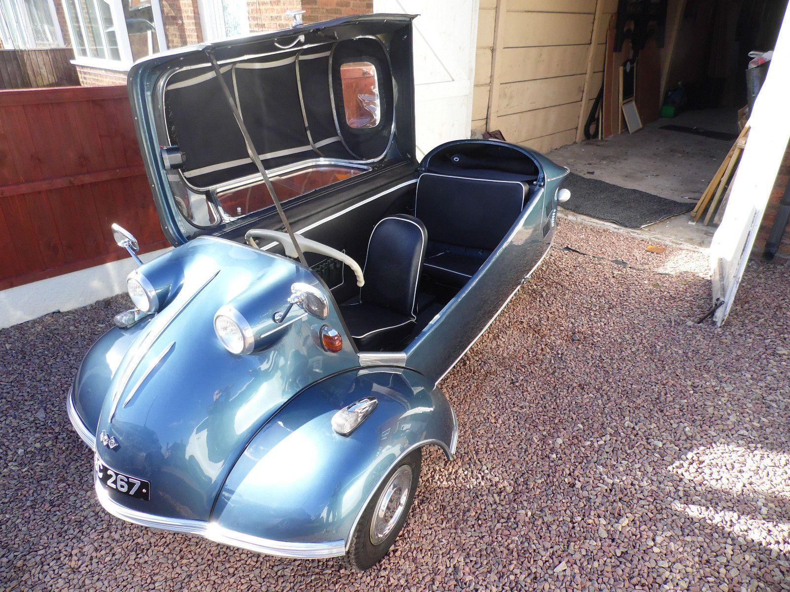 1961 Messerschmitt KR200 cabriolet - Micro car Bubble car | eBay ...