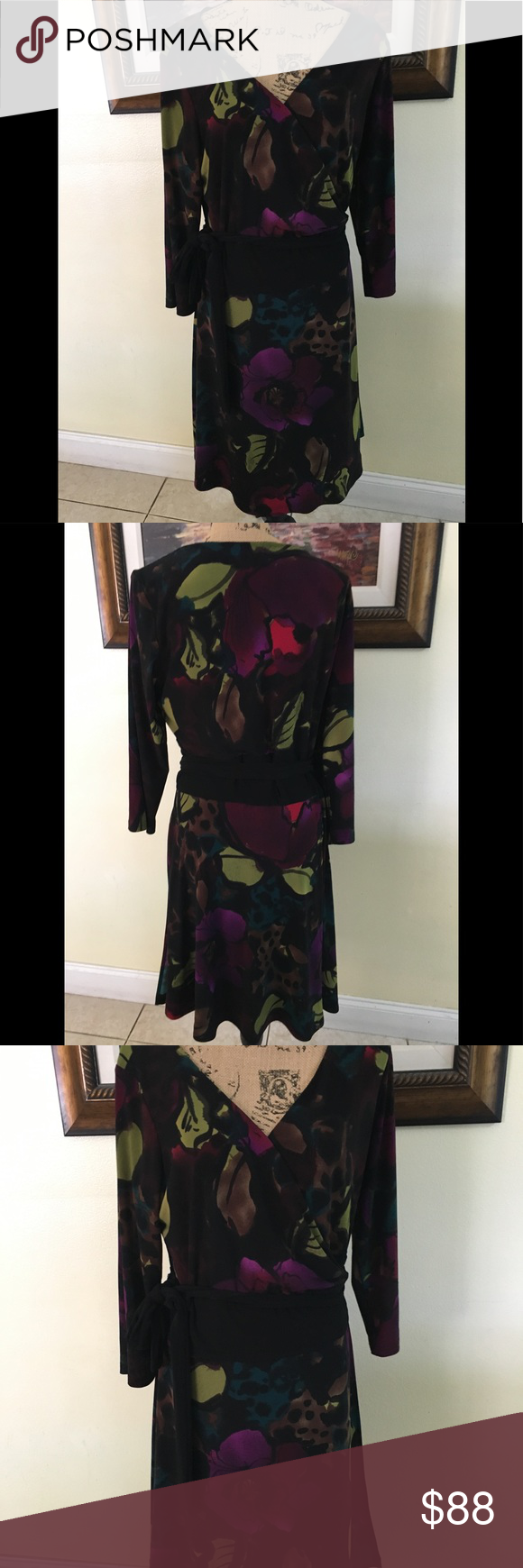 Jones new york wrap dress wrap dresses wraps and dark