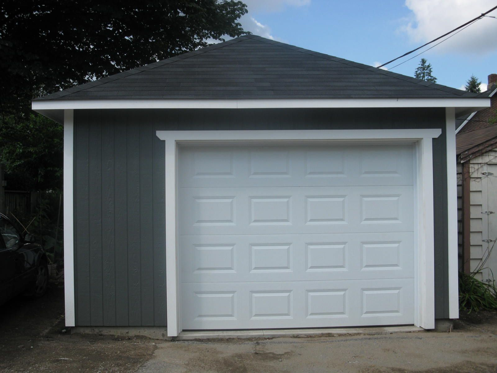 Beautiful Urban Garage With Lots Of Storage Space Garages Pinterest