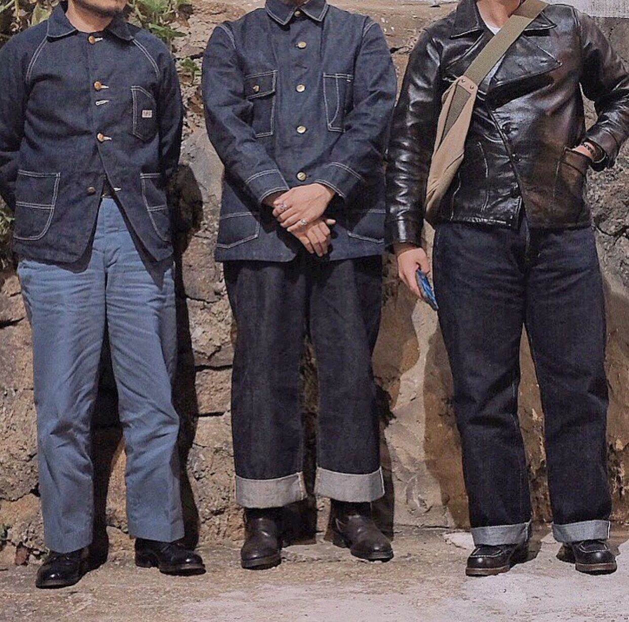 Under My Skin Denim Outfit Men Workwear Vintage Workwear Fashion