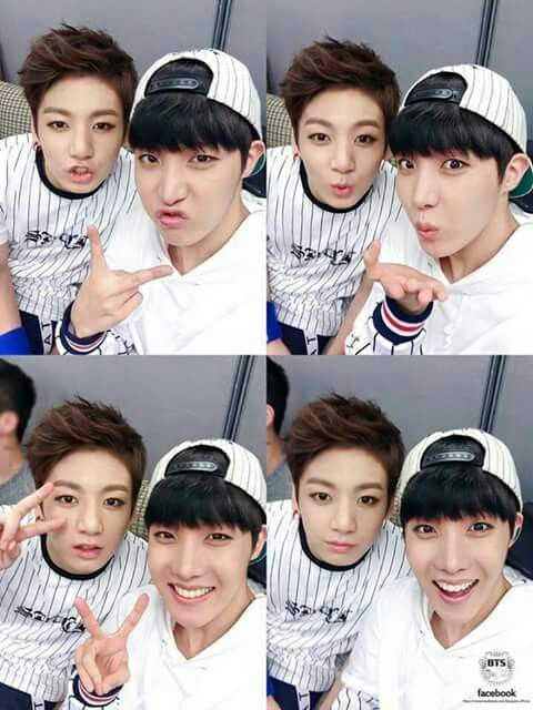 Kookkie and JHope