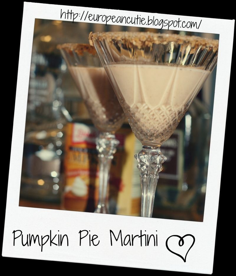 Pumpkin Pie Martini on MyRecipeMagic.com