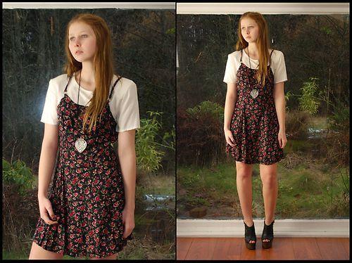 t shirt strappy dress