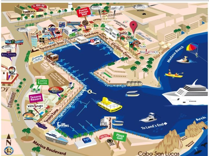 MARINA FIESTA RESORT   Mexico in 2019   Cabo san lucas, Cabo ... on map of newport marina, map of puerto vallarta marina, map of key largo marina, cabo san lucas marina, map of delta marina,