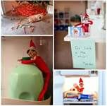 Elf on the shelf ideas.  Super cute!  Trying one of these out tonight!