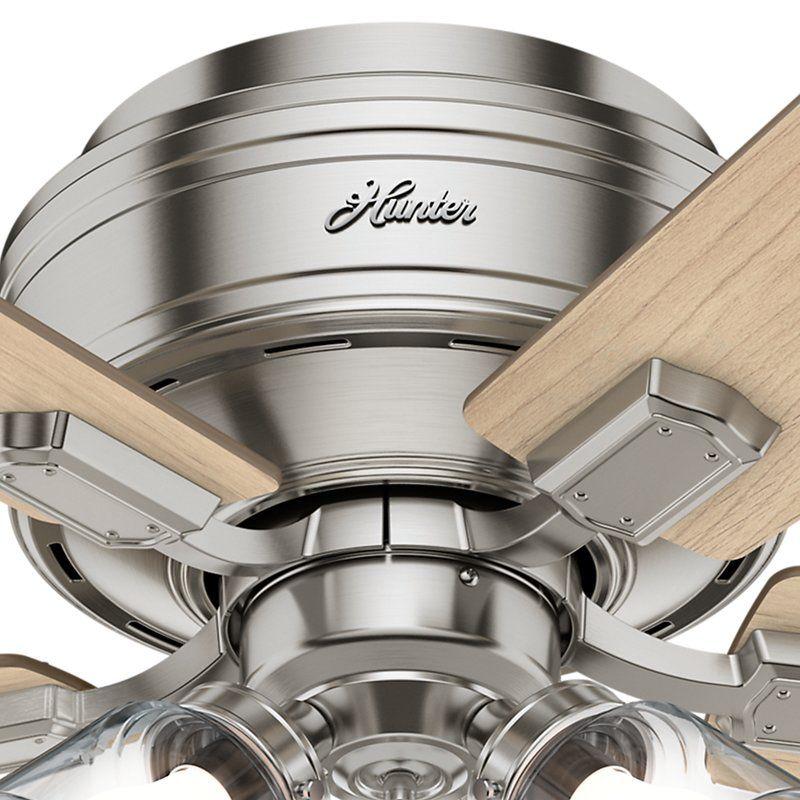 42 crestfield 5 blade ceiling fan light kit included