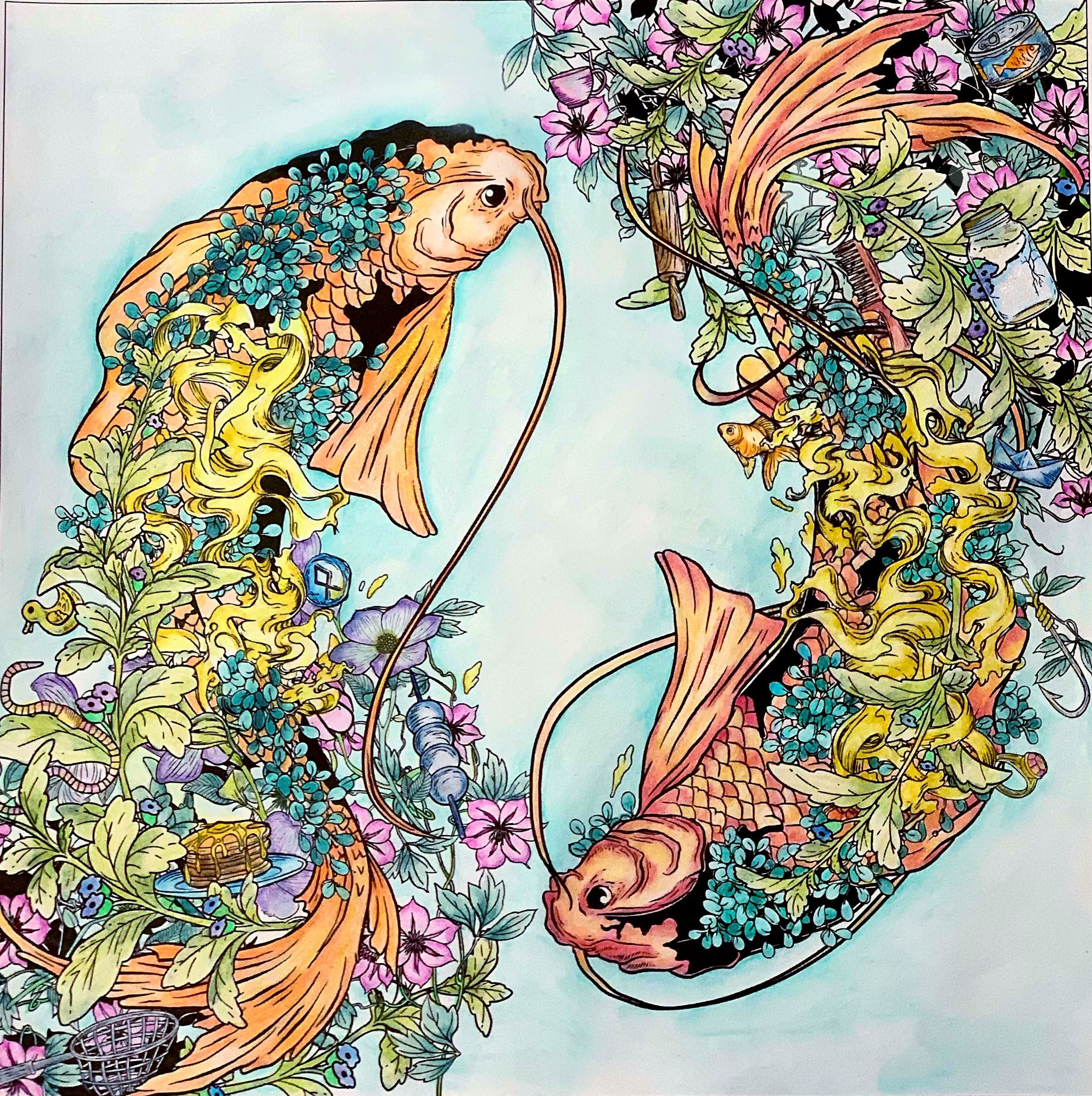 Koi Make Me Think Of Summer From Mythographic By Joseph