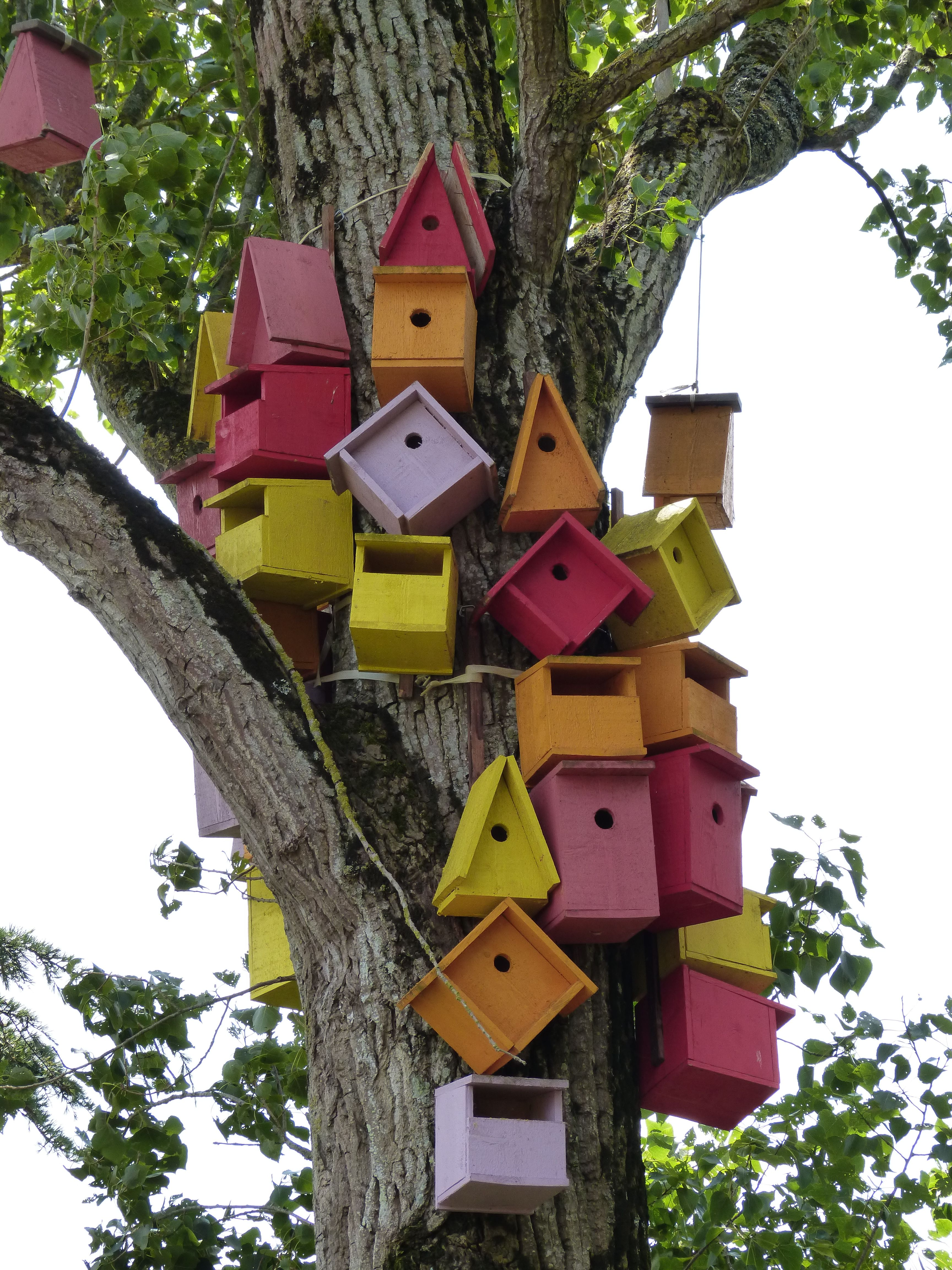 nichoirs Bird houses, Outdoor decor, Bird house