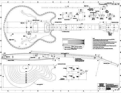 Free pdf guitar blueprints electric guitar information pinterest free pdf guitar blueprints malvernweather Gallery