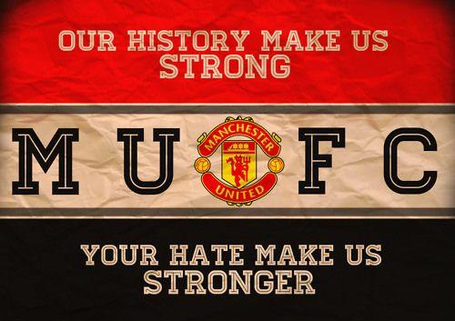 Manchester United  I love my boyfriend.