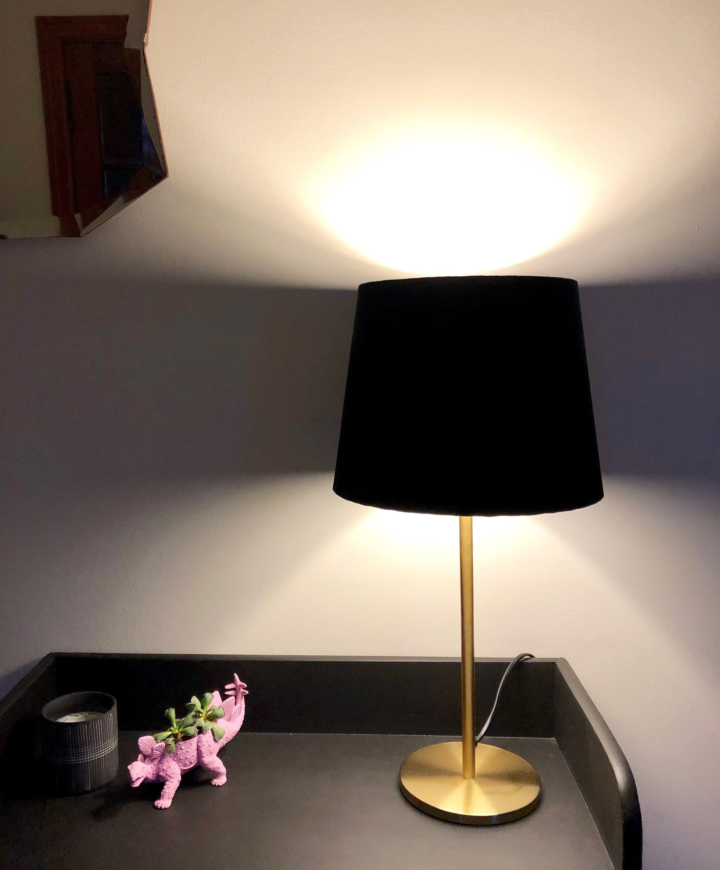 Black Velvet Lampshade Empire Lampshade Black Lamp Shade Etsy