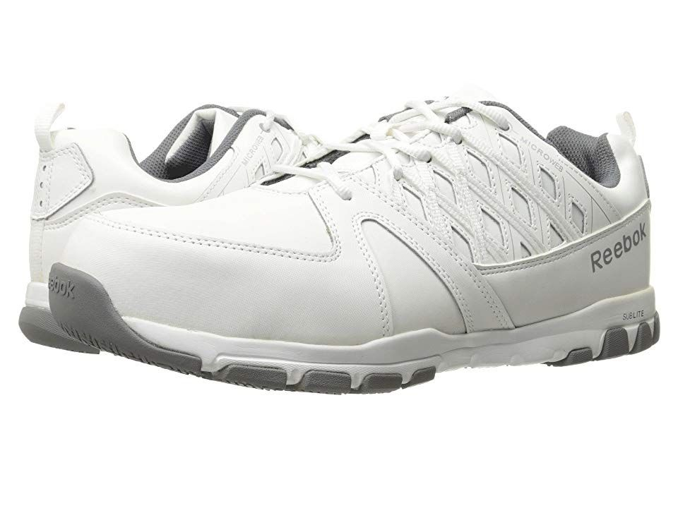 4c2d46c7b66f Reebok Work Sublite Work (White) Men s Work Boots. When it s time to ...