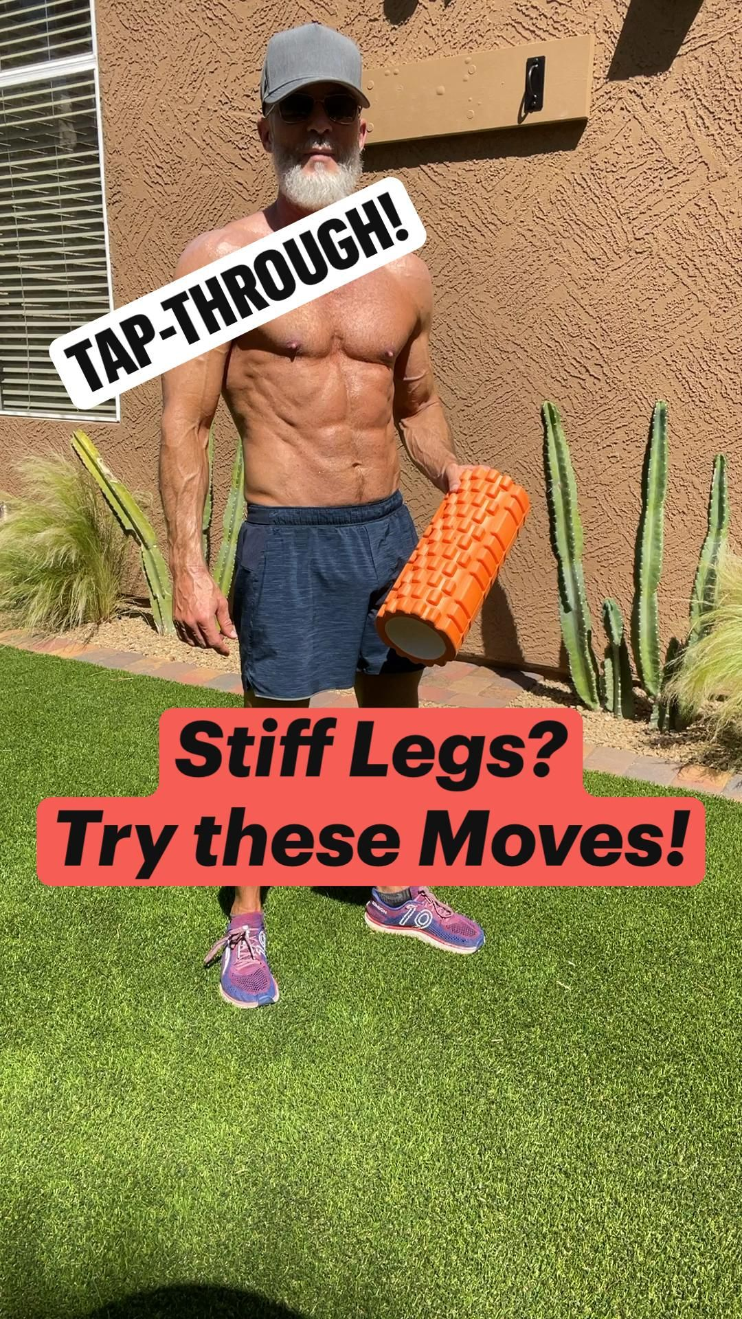 Stiff Legs? Try these Moves!