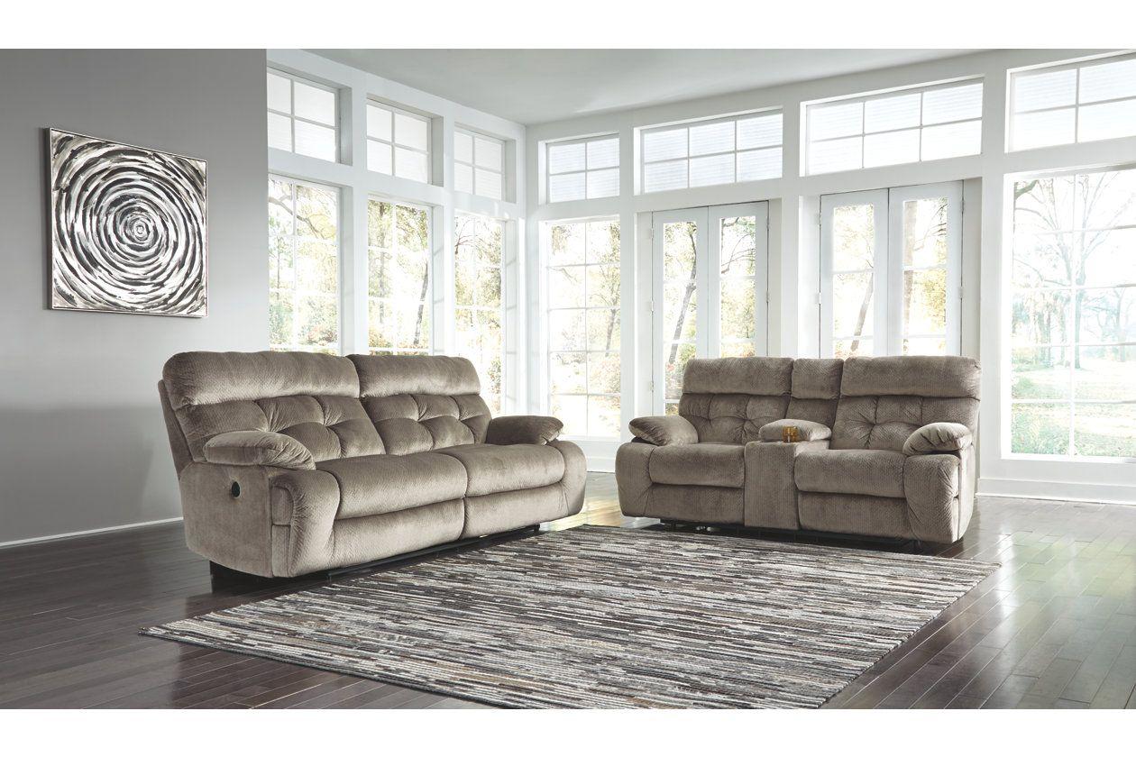 Brassville Reclining Sofa Ashley Furniture Homestore Reclining