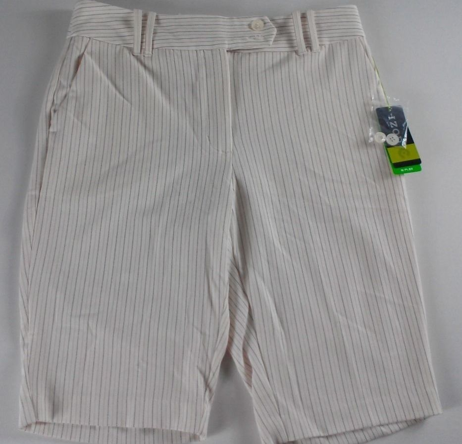 "NWT #IZOD G Flex Shorts Womens SZ 6/8 Striped #Golf Walking 32"" Waist SPF 40 http://www.ebay.com/itm/-/291437596000?roken=cUgayN&soutkn=KgvQhm #clothes #newshorts #newclothes #ebay"