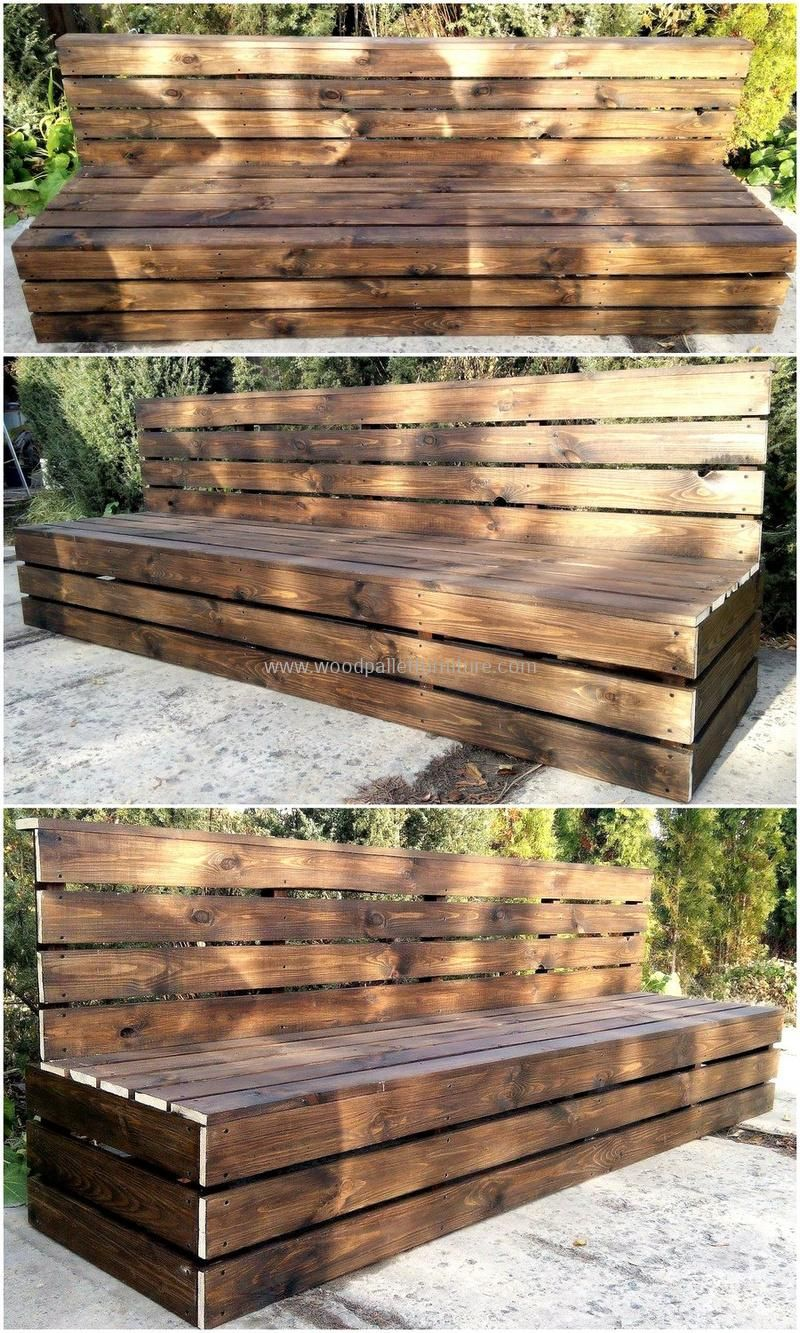 50 Cool Ideas for Wood Pallets Upcycling | Wood pallets, Upcycling ...