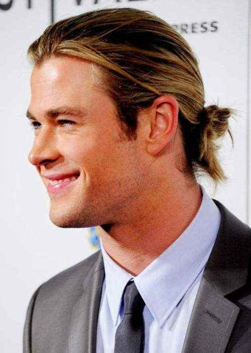 Pulled Back Hairstyles For Long Hair Men Long Hair Styles