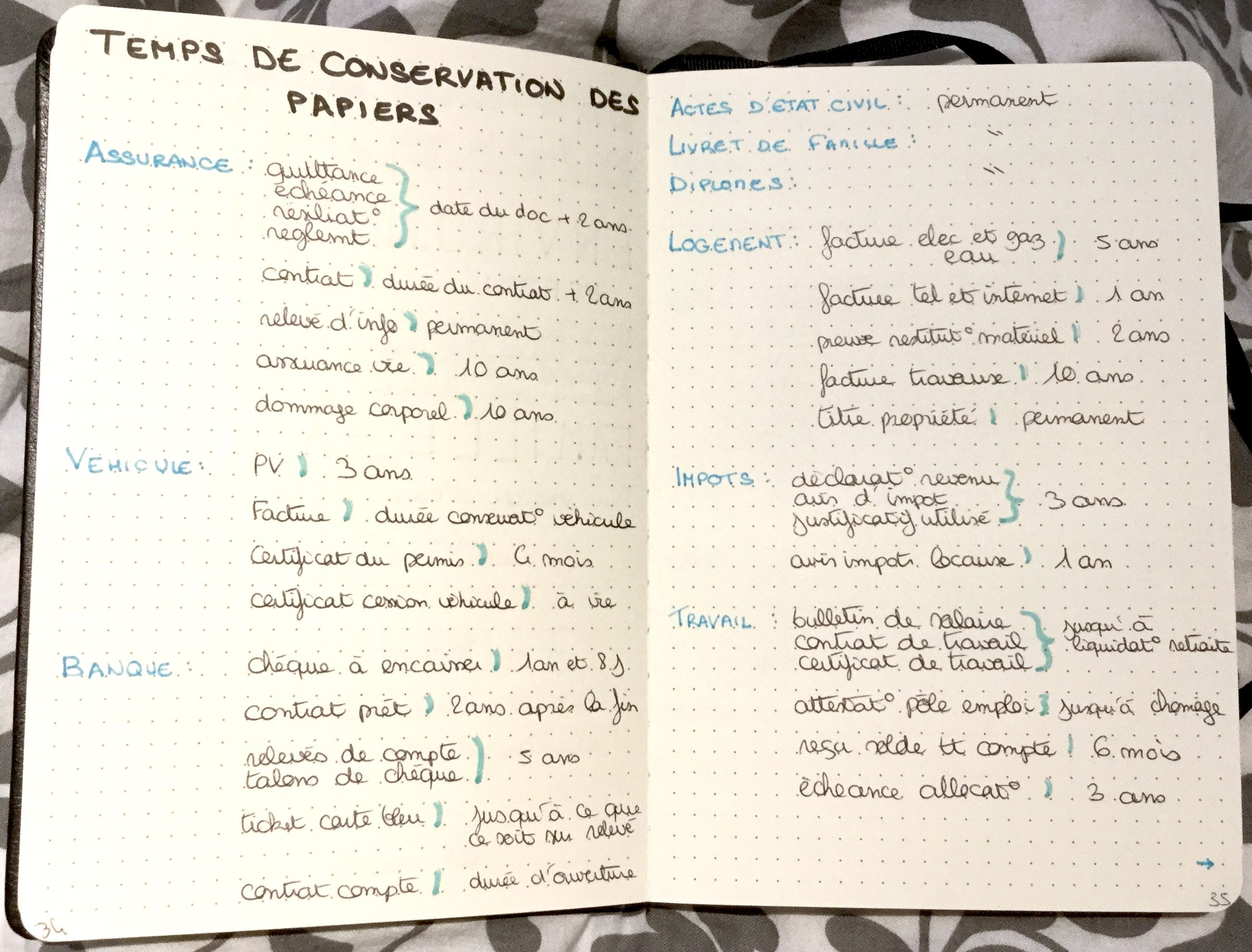 J Ai Voulu Ajouter Une Page Avec Les Temps De Conservation