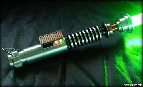 Make your own Luke Skywalker Lightsaber