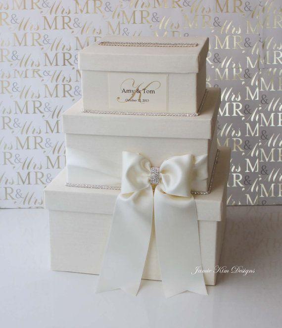 Wedding Card Box Money Holder Wishing Well By Jamiekimdesigns 11900