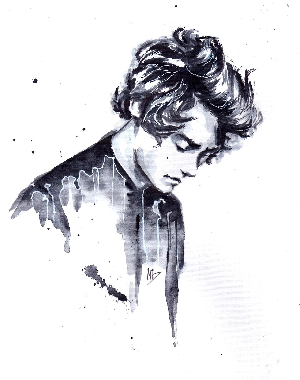 dariemkova: that dude from One Direction that i always draw