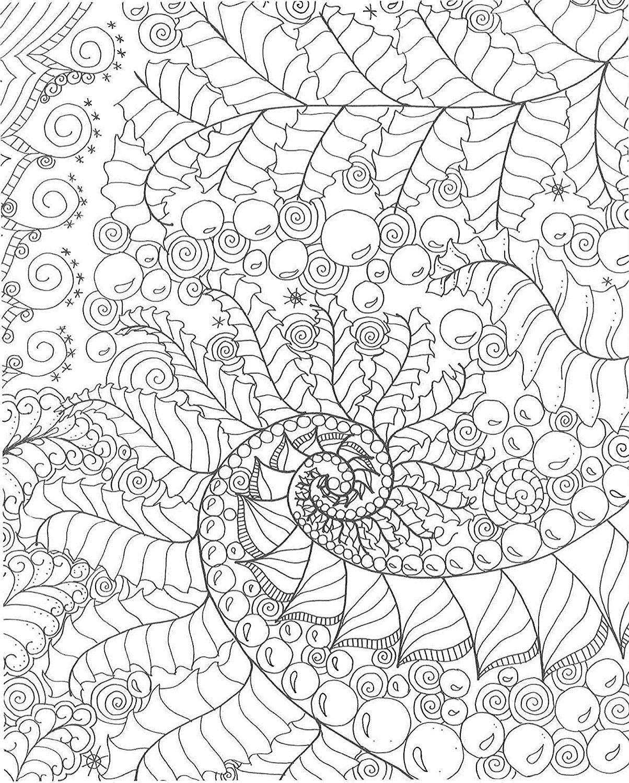 Zendoodle Coloring Calming Swirls Nikolett Corley Amazoncouk Books