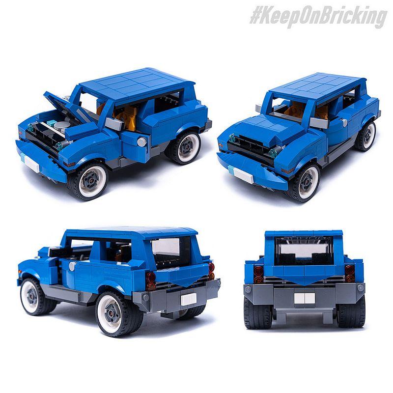 31070 Suv Alternate Moc Model Lego Cars Pinterest Legos Lego